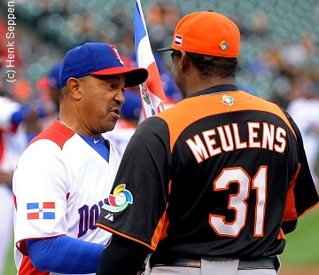 8657a3da6 During the 2013 World Baseball Classic, Tony Peña (left) was the Manger of  the Dominican Republic... ...Felipe Alou was the Dominican Manager in 2009  and ...